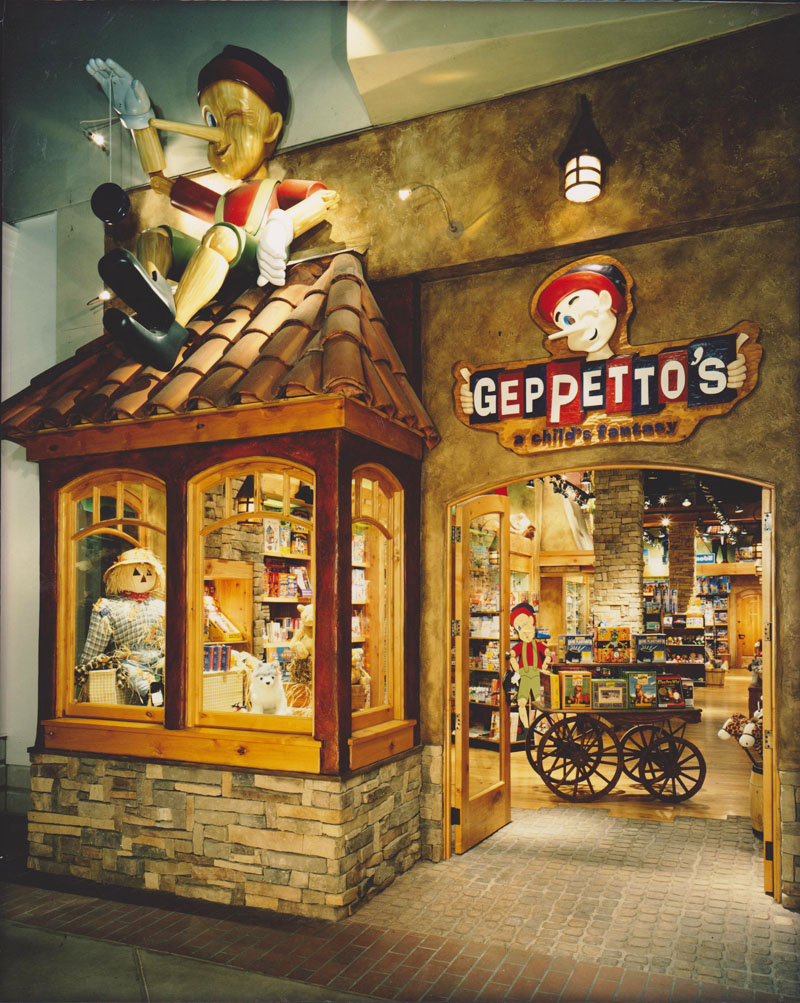 Geppetto S Toy Store Paint Consultant